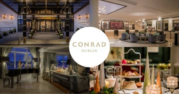 Win an overnight and dinner in the Conrad Dublin
