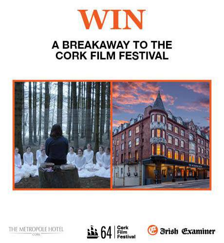Win a Breakaway to The Cork Film Festival