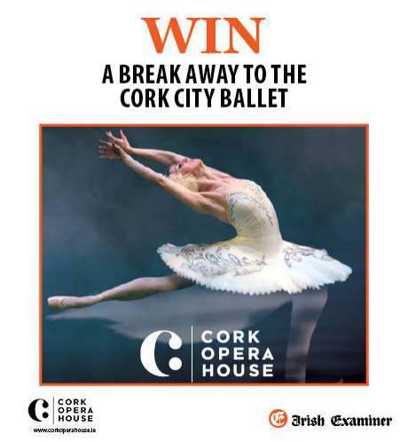 Win a Break away with Cork City Ballet