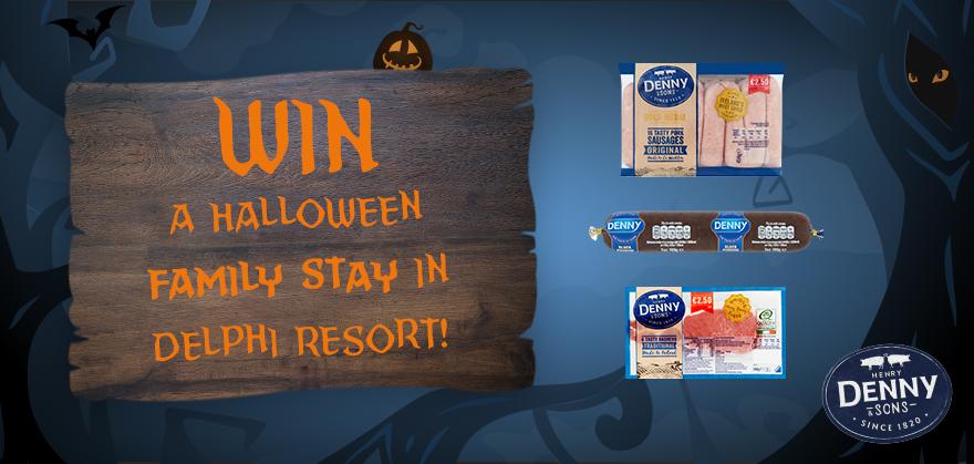 Win a Halloween Family Stay in Delphi Resort
