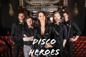 Win Disco Heroes for your Wedding Band