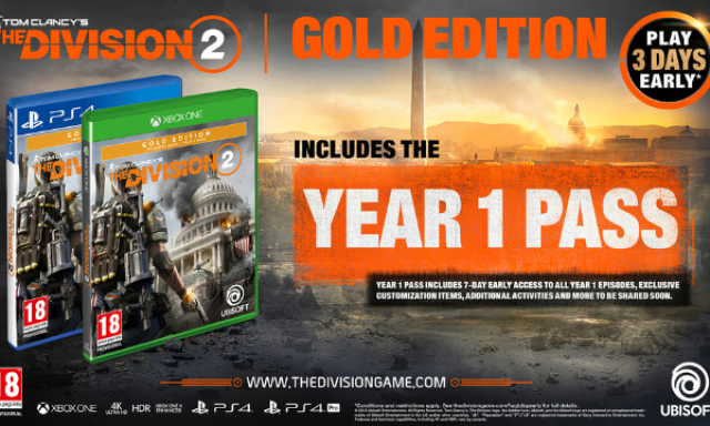 Win The Division 2 Gold Edition for Xbox One