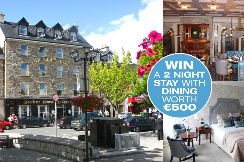 Win a two night break at the Abbey Hotel Donegal