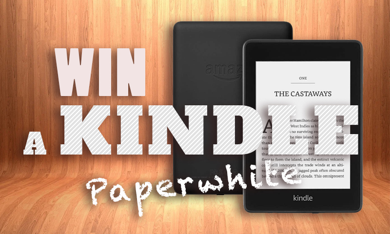 Win An AMAZON KINDLE Paperwhite
