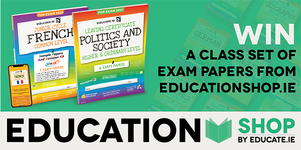 Win a Set of Exam Papers from EducationShop.ie