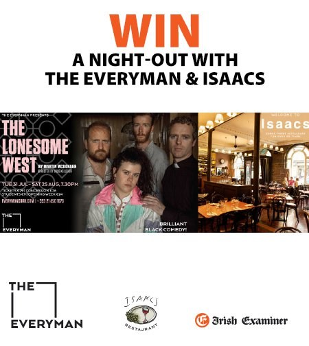 Win a Night out with The Everyman and Isaacs