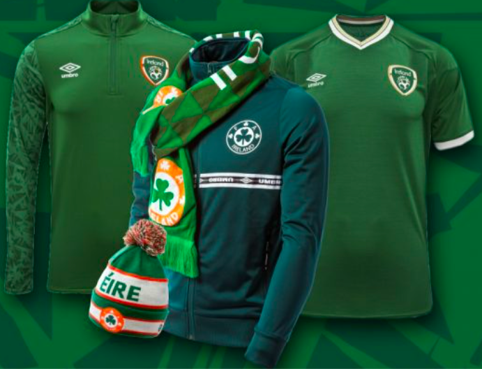 Win a Republic of Ireland Gear Bundle