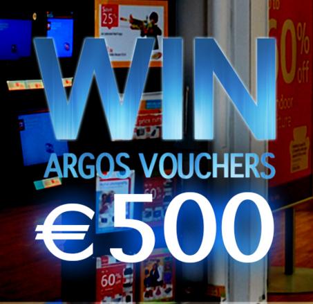 Win a €500 Argos Voucher