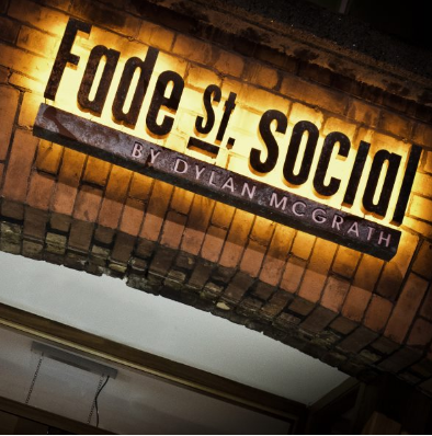 Fade Street Social competition for a €100 Voucher