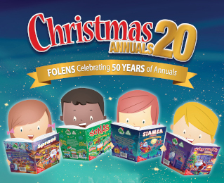 Win Folens Christmas Annuals for your Whole Class