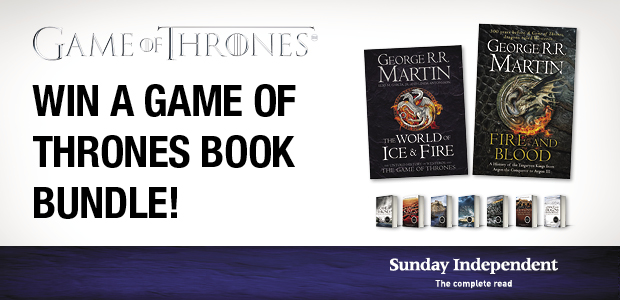 Win a Game of Thrones book bundle