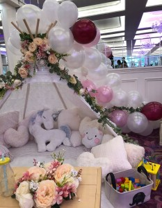 Win a Giddy Glamping Children's Corner at your Wedding