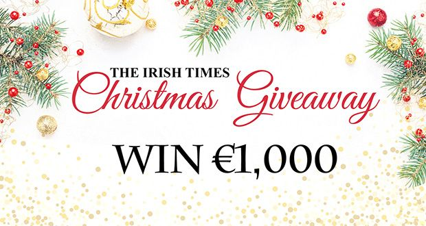 Win €1,000 with The Irish Times this weekend