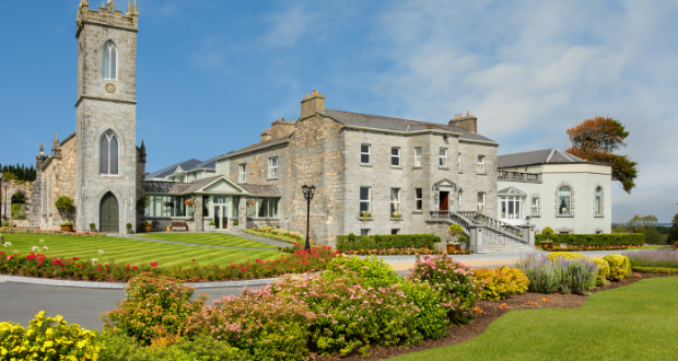 Win an overnight escape with afternoon tea and dinner at Glenlo Abbey Hotel and Estate