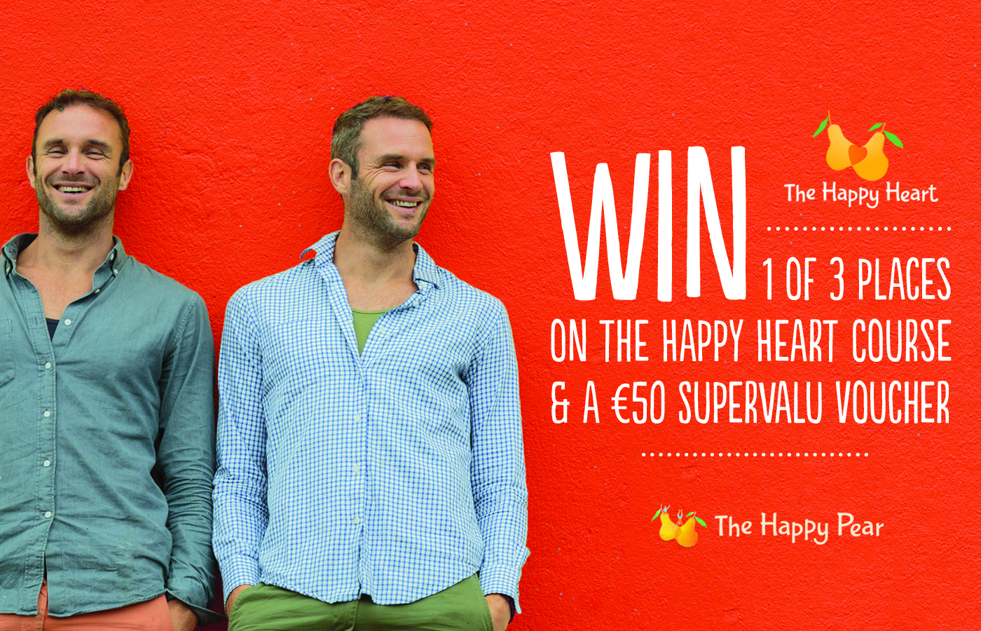 Win a place on The Happy Heart Course with The Happy Pear
