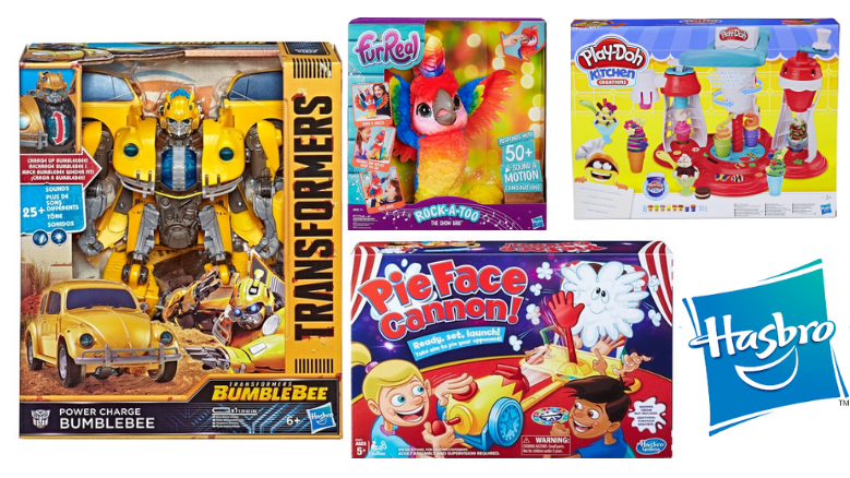 Win up to €100 worth of Hasbro Toys
