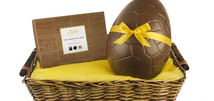 Win a Giant Butlers Chocolates Easter Egg Basket