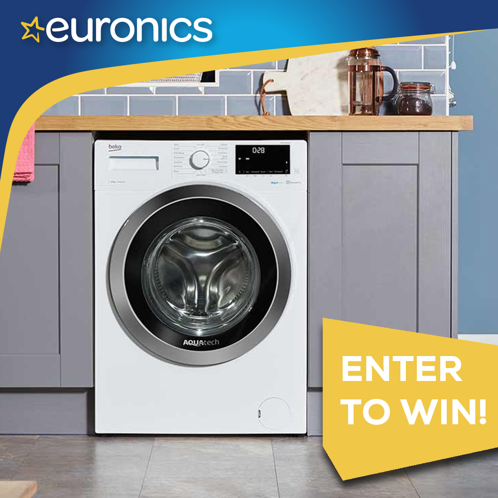 Win a Beko 8kg AquaTech Washing Machine