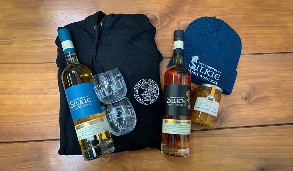 Win Legendary Silkie Irish Whiskey Merchandise