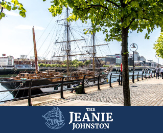 Win a School Tour of The Jeanie Johnston Tall Ship