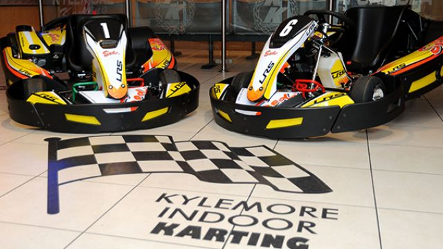 Win an amazing karting experience for 10 at Kylemore Karting