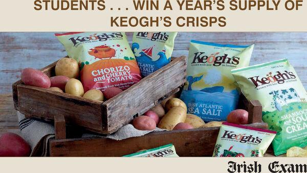 Win a Year' Supply of Keogh's Crisps