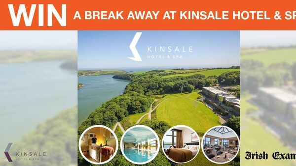 Win a Break away at Kinsale Hotel and Spa