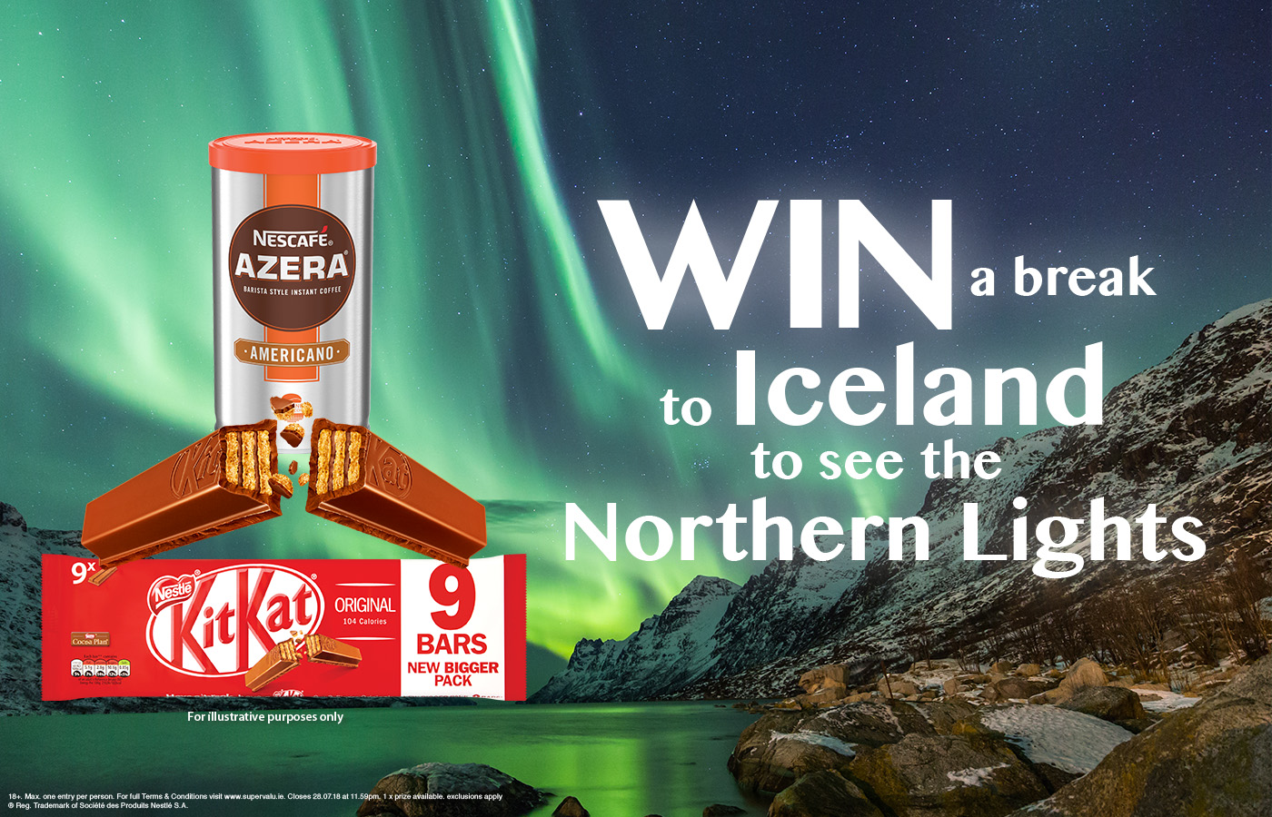 Win a break to Iceland to see the Northern Lights with Nescafé Azera