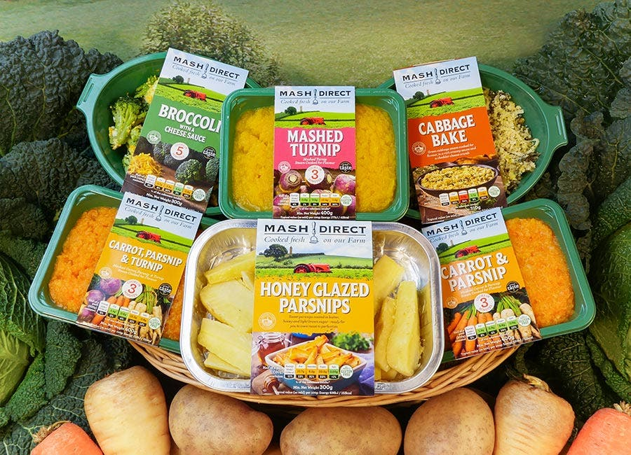Win a month's supply of Mash Direct
