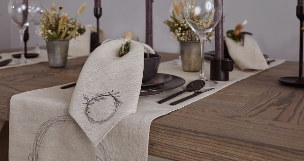 Win a tableware set from Irish Linen House