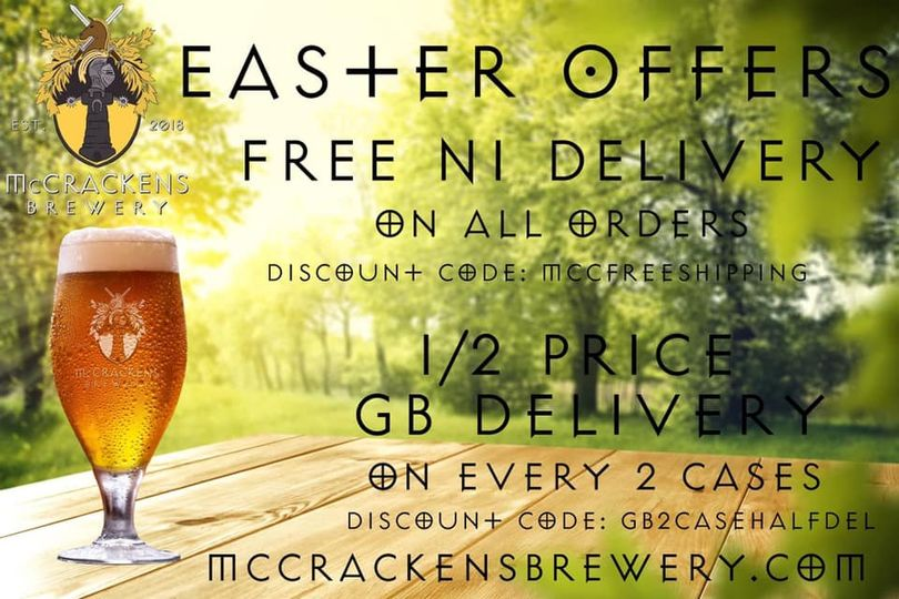 Win a whole case of McCrackens
