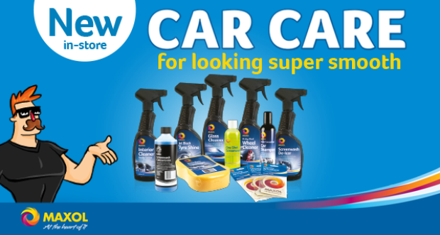 Win all you need to keep your car squeaky clean this springtime with Maxol