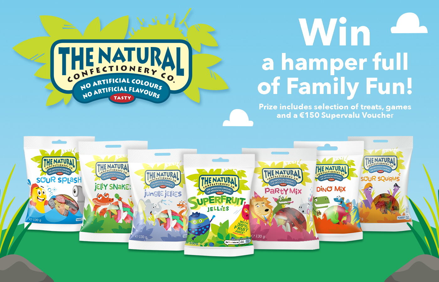 Win with The Natural Confectionary Company