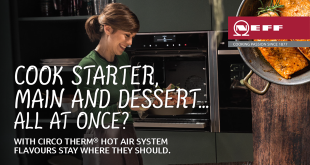 Win a Neff Slide and Hide Oven worth €1,729