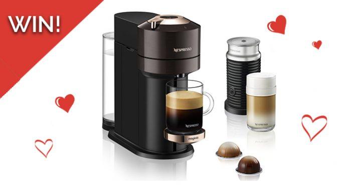 Win a Magimix Nespresso Coffee Machine