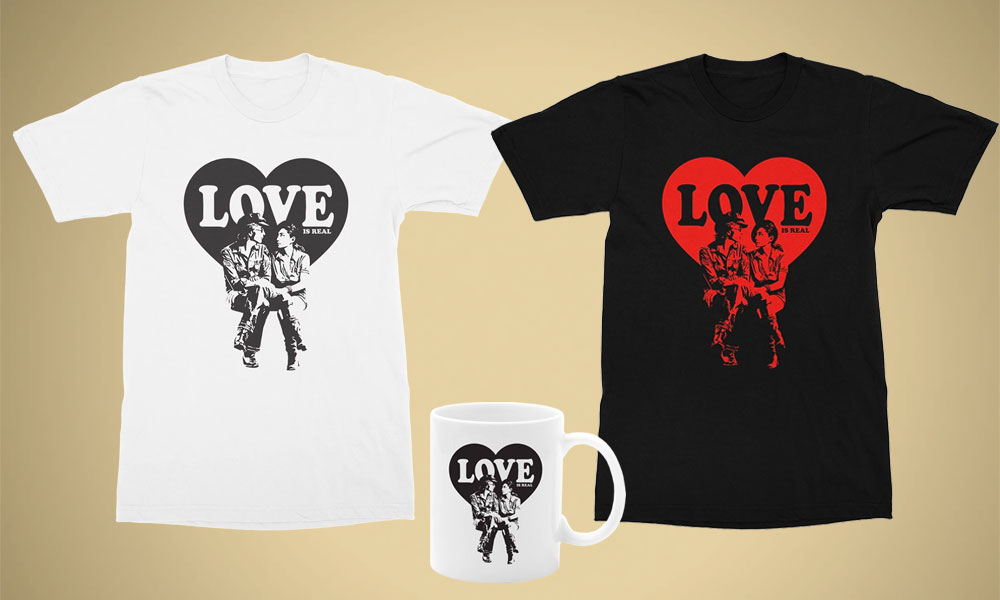 Win Official John Lennon LOVE Merch