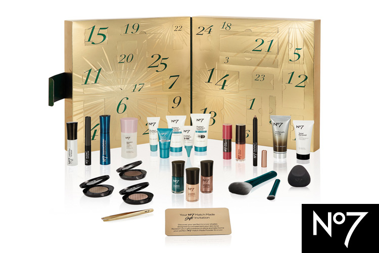 Win The No7 Ultimate Beauty Calendar from Boots