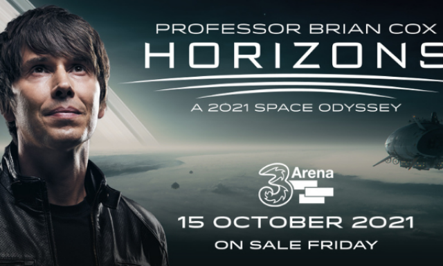 Win Tickets to Professor Brian Cox World Tour 2021