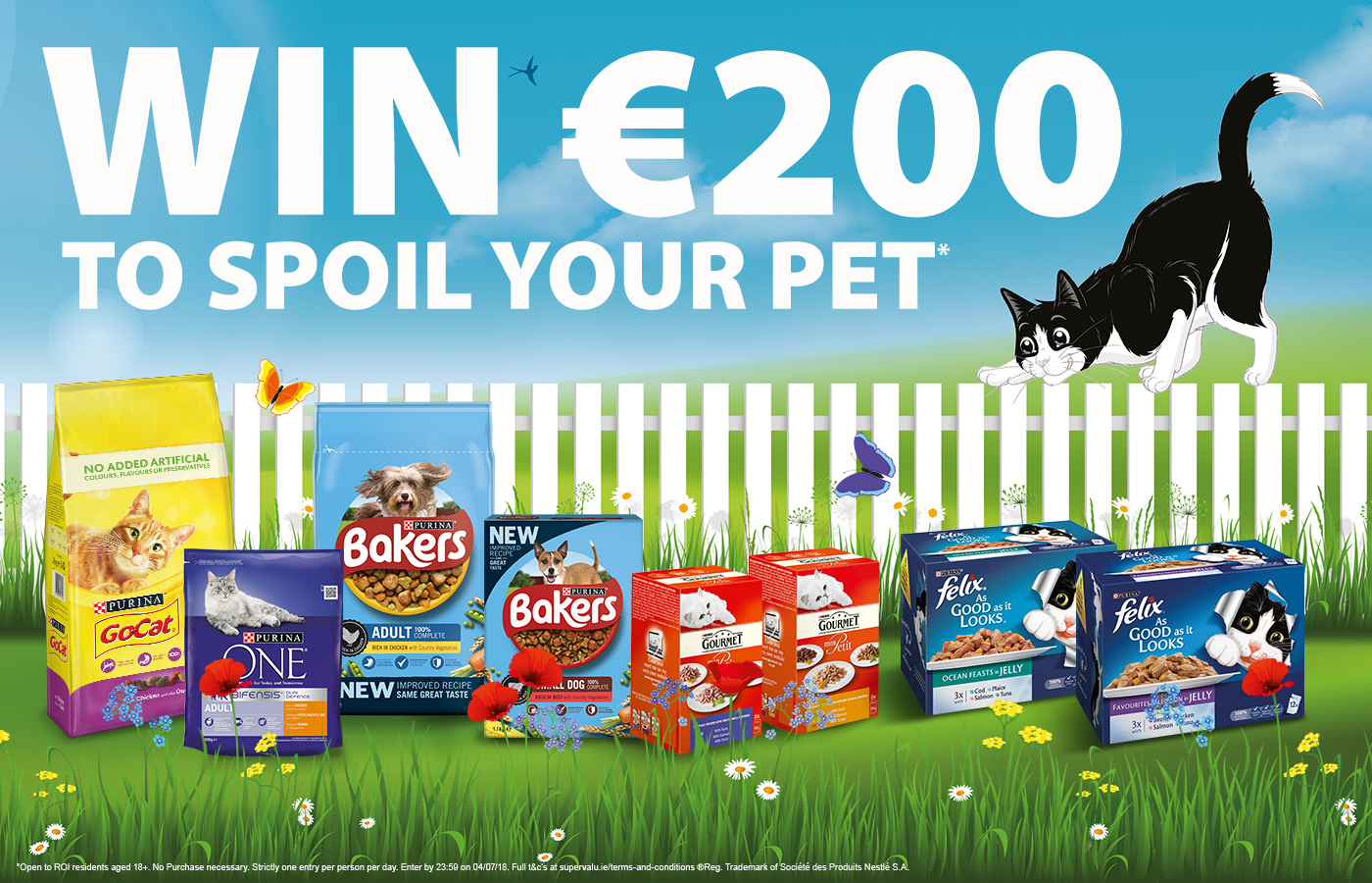 Win a €200 to spoil your pet with Purina