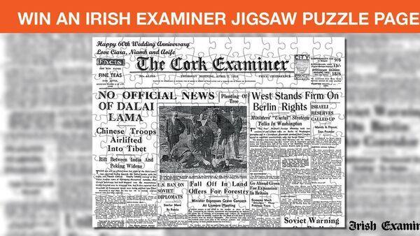 Win an Irish Examiner Jigsaw Puzzle Page