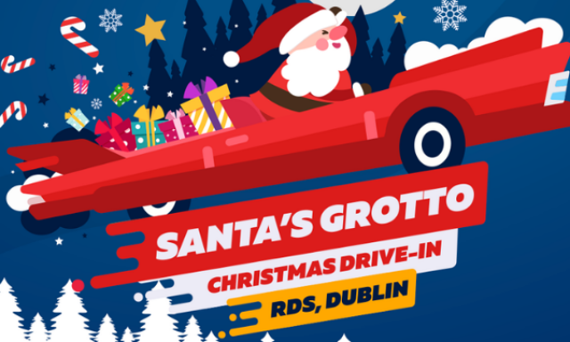 Win a Family Pass to Santa's Drive-In Grotto