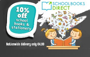 Win 1 of 4 €100 vouchers for Schoolbooks.ie