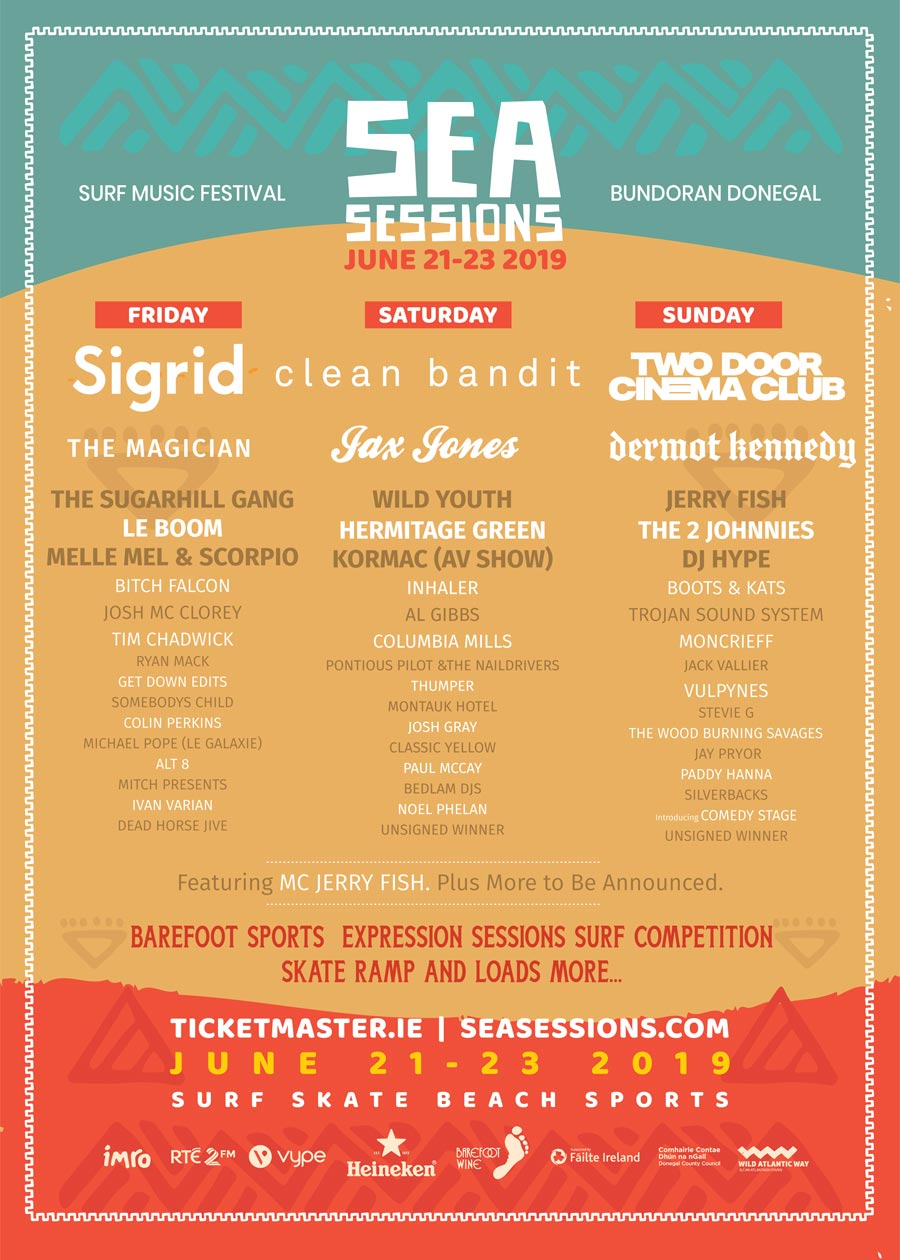 Win a pair of weekend tickets to Sea Sessions