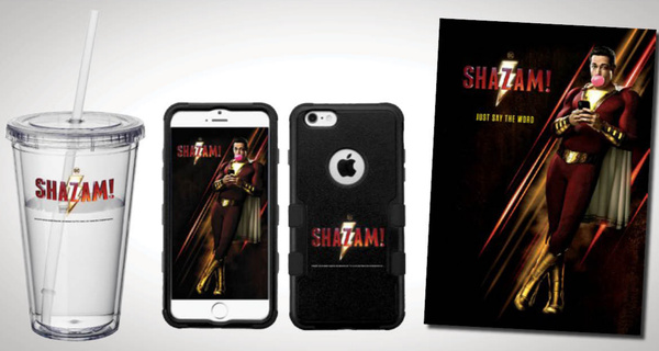 Win an exclusive Shazam! Movie Gift Set