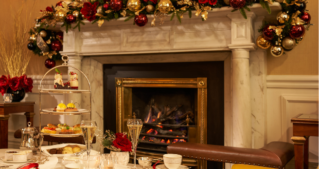 Win a festive afternoon tea for two at The Shelbourne