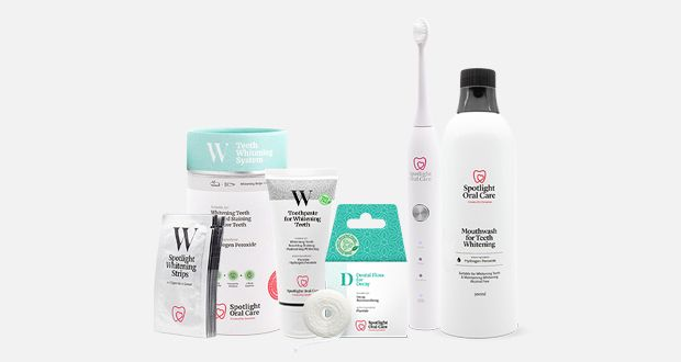 Win a year's supply of Spotlight Oral Care Products