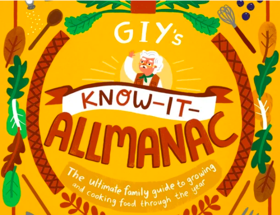 Win a Kids GROWBox and a copy of GIY's Know-It-Allmanac
