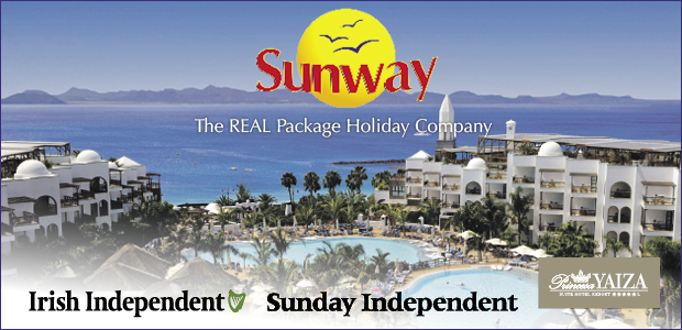 Win a 5 Holiday for 2 with Sunway