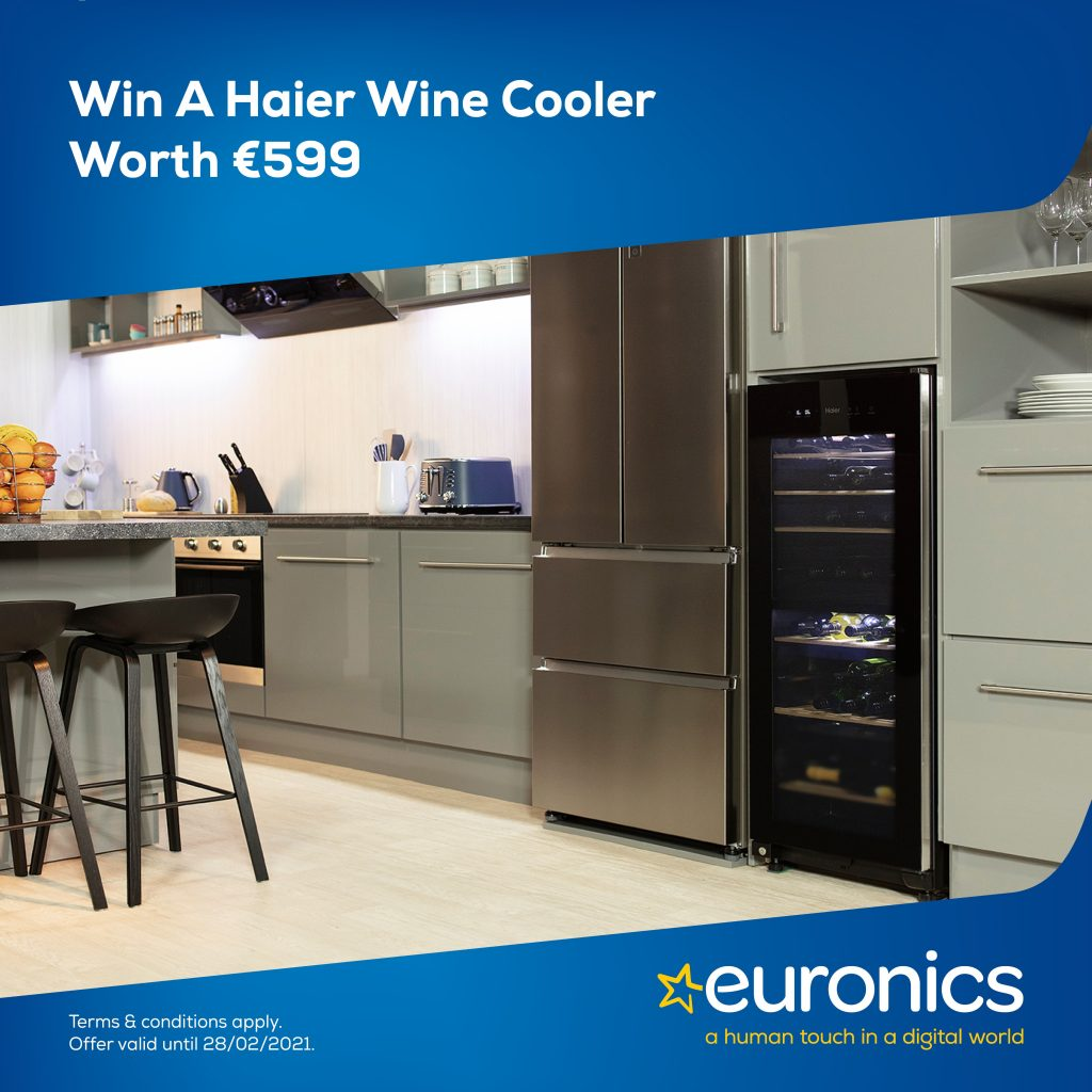 Win a Haier Wine Cooler worth €599
