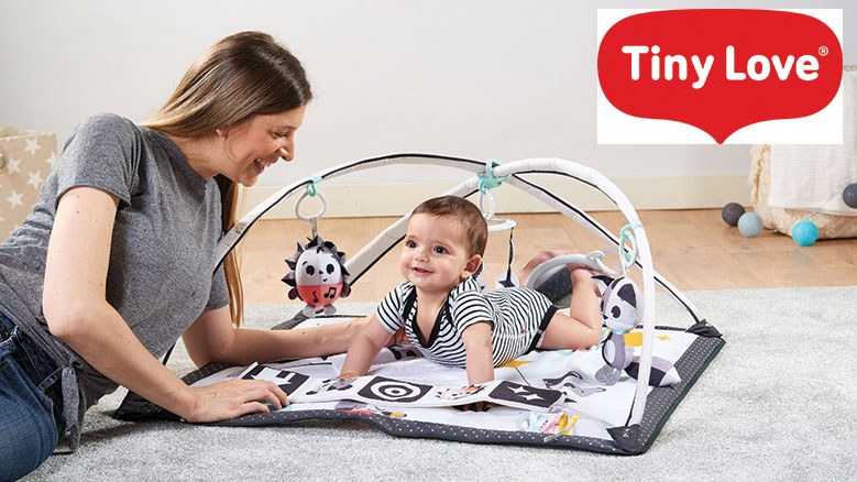 Win an Activity Mat from Tiny Love to Help with Baby's Development